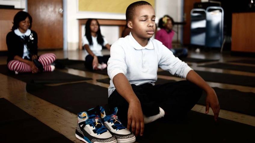 enseñar meditacion y mindfulness a niños