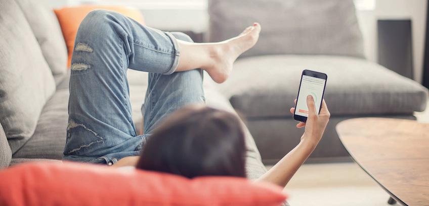Elvie cuenta con una app móvil para establecer rutinas de ejercicios para fortalecer el suelo pélvico con tu móvil