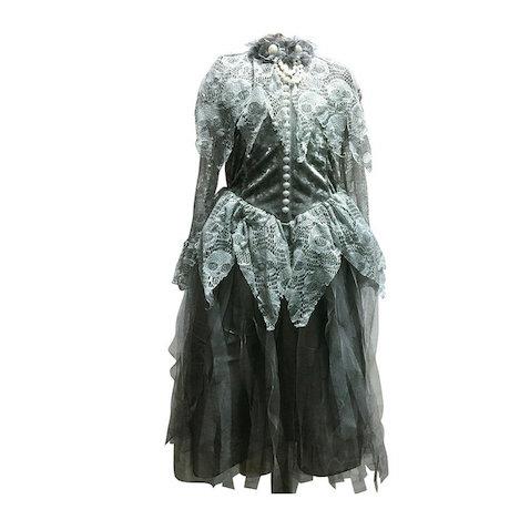 Disfraz novia de zombie para Halloween