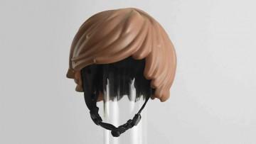 Original casco de bici para niñ@s estilo click de Playmobil