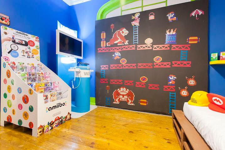 Decoración infantil Super Mario