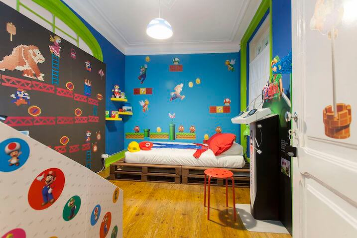 decoración super mario