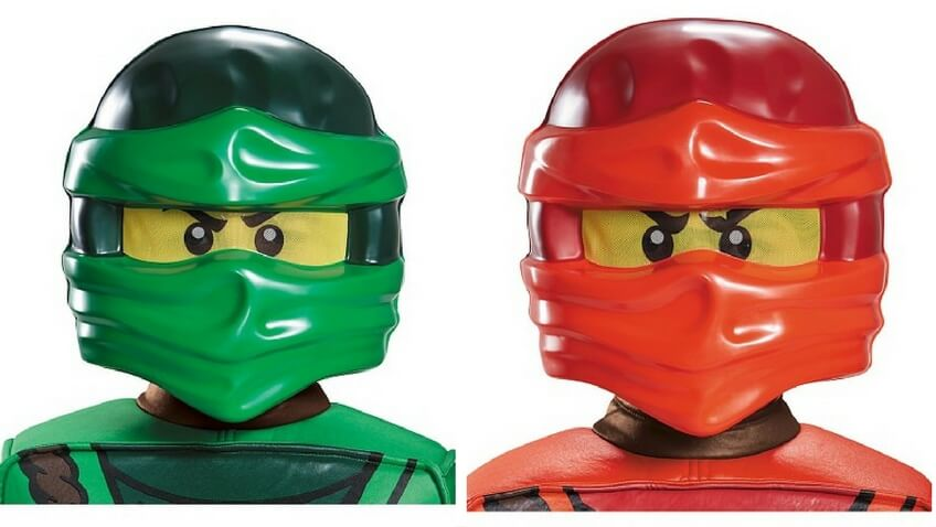 disfraces halloween para niños Lego Ninjajo