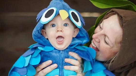 8 disfraces caseros para bebés perfectos para Halloween