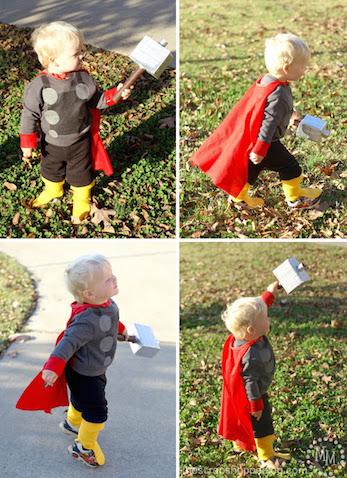 Disfraz casero de Thor