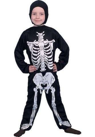 Disfraz de Halloween para niñ@s de esqueleto