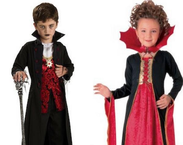 Disfraces para niñ@s de Vampiro y Vampiresa