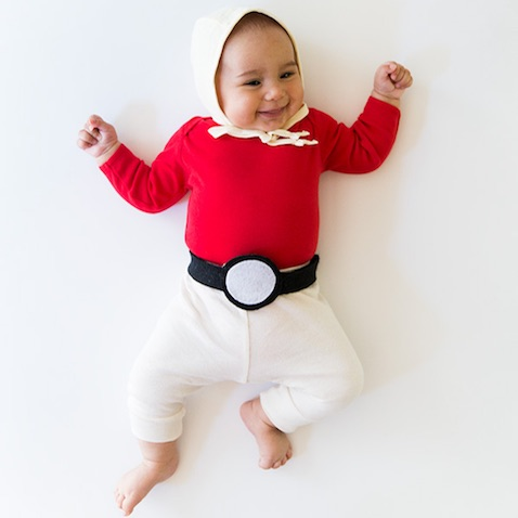 Disfraz Pokemon para bebés casero