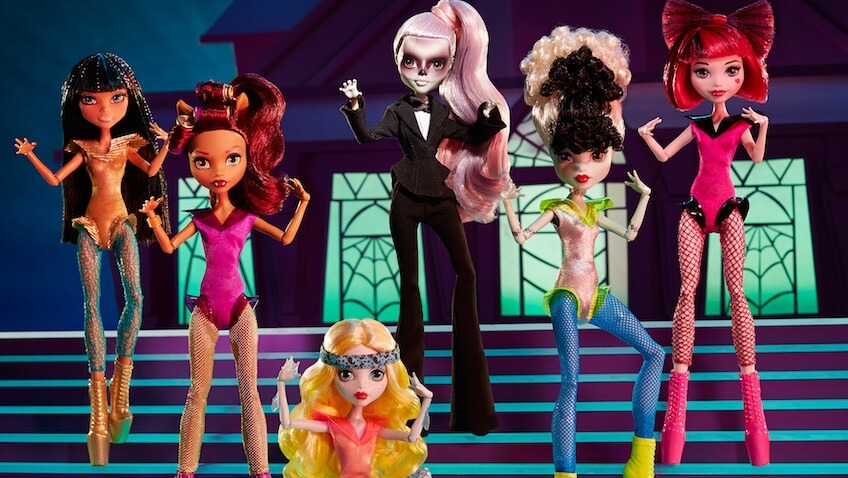 zomby gaga monster high