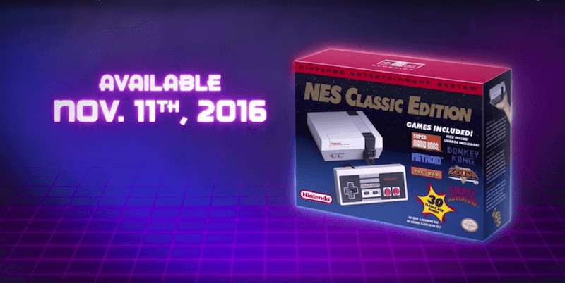 Consola Nintendo Classic Mini