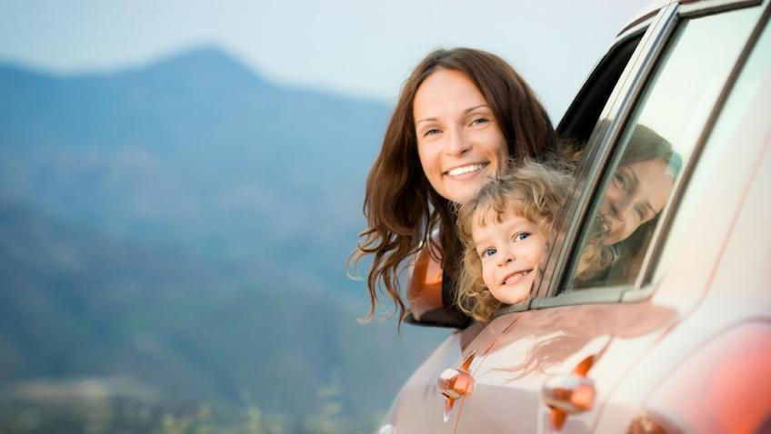 Viajar en coche con niñ@s pequeños