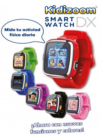 Kidizoom Smart Watch DX 6 colores y camuflaje