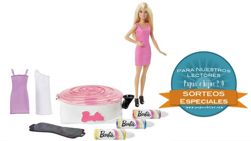 Barbie Gira y Disena accesorios