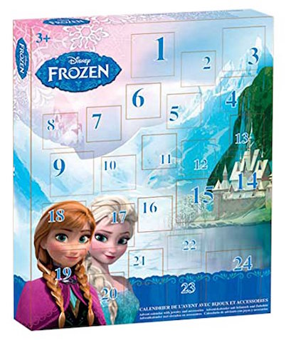 Calendario de adviento de Disney Frozen
