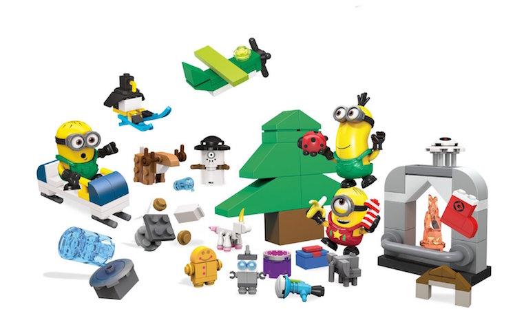 Calendario de Adviento de Minions de Mega Bloks