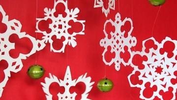 Decoración de Navidad de Mickey, para hacer con los niñ@s