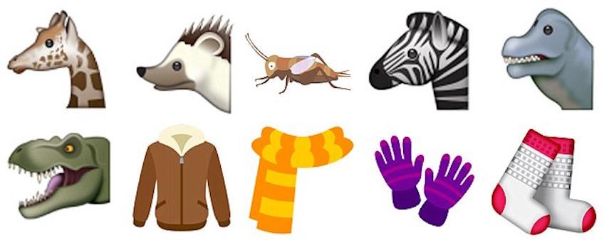 Emojis Unicode 10 que encantarán a nuestros hij@s
