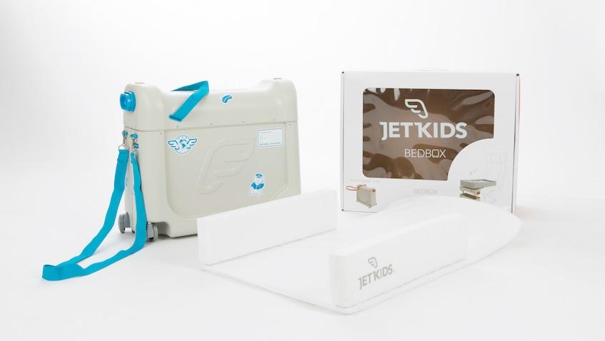maleta para niños con cama para el avión