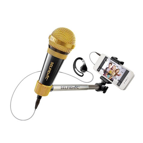 Selfiemic de IMC Toys, micro con selfie stick