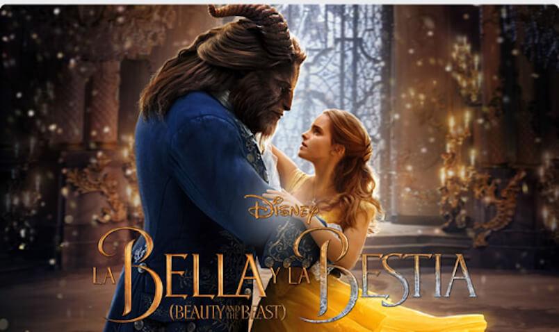 La Bella y la Bestia con Emma Watson y Dan Stevens