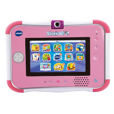 Tablet para niñ@s Storio 3S de Vtech color rosa