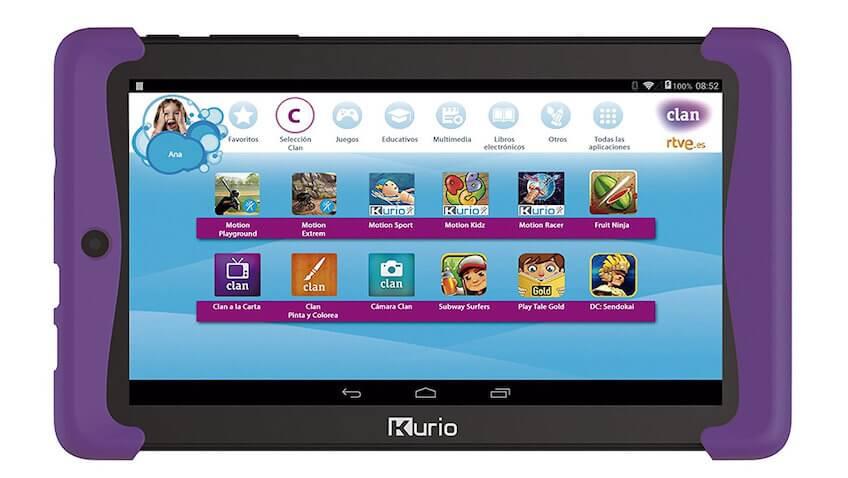 Tablet Clan Kurio TAB2 para niños