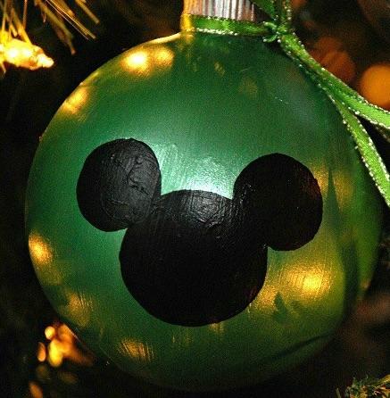 Bolas de Navidad de Mickey Mouse