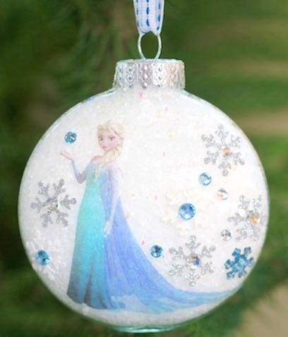 Bolas de Navidad de Elsa Frozen