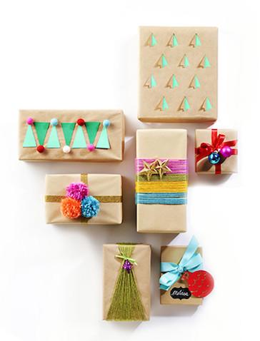 ideas envolver regalos de forma origal para nis navidad