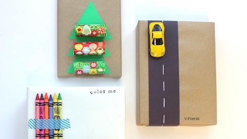 Envolver regalos de forma original para ni s esta navidad - Envolver regalos de forma original ...