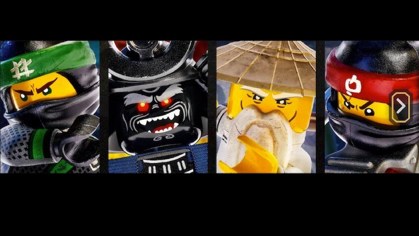lego ninjago película los personajes principales Lloyd