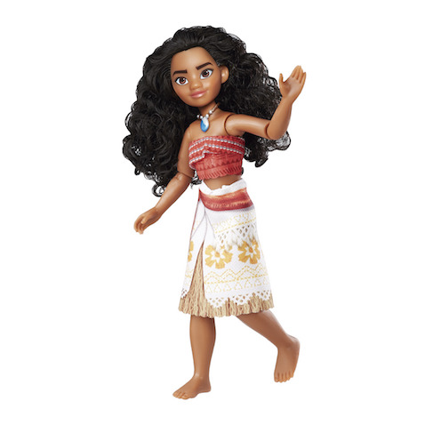 Vaiana muñeca de Hasbro exclusiva El Corte Inglés