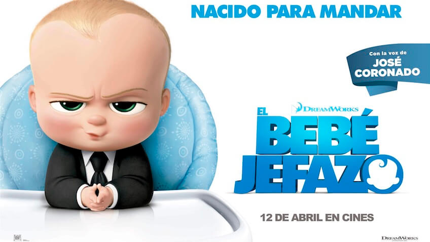 Película El Bebé Jefazo