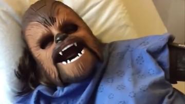 """Conoce a """"Chewbacca Mom"""", el parto de las Galaxias"""