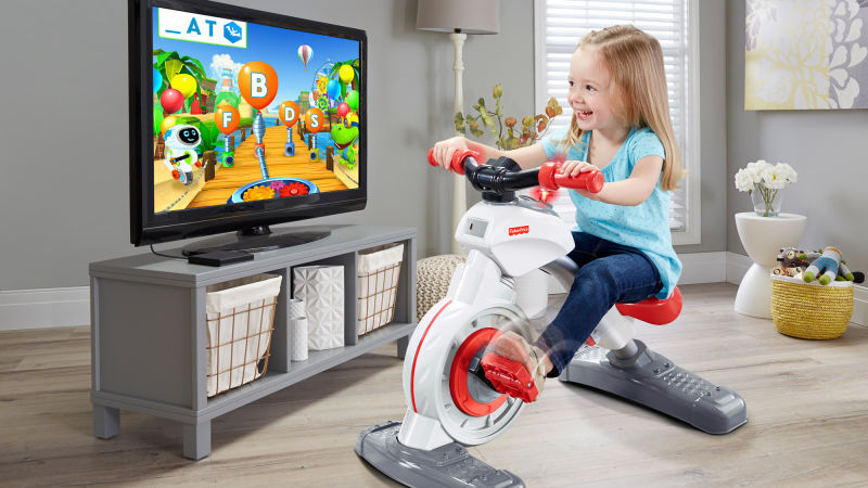 Smart Cycle, una bicicleta estática para niñ@s