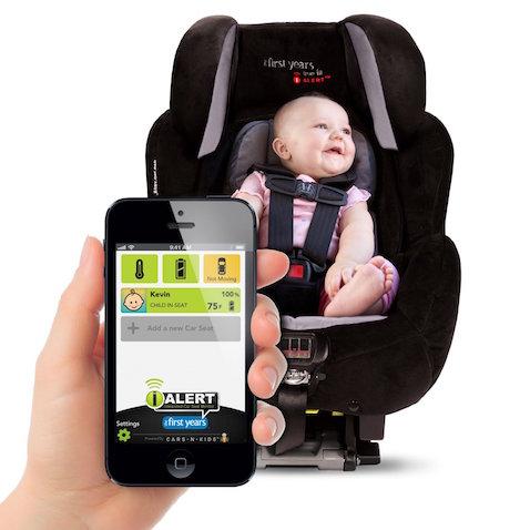 Silla de coche para bebés inteligente