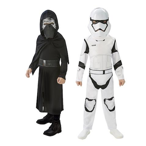 Pack disfraces Kylo Ren y Stormtrooper