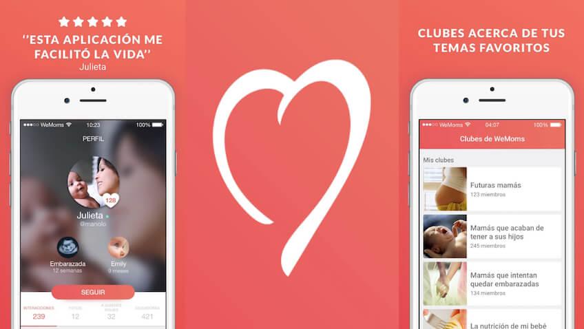 WeMoms una app para la maternidad imprescindible desde el embarazo