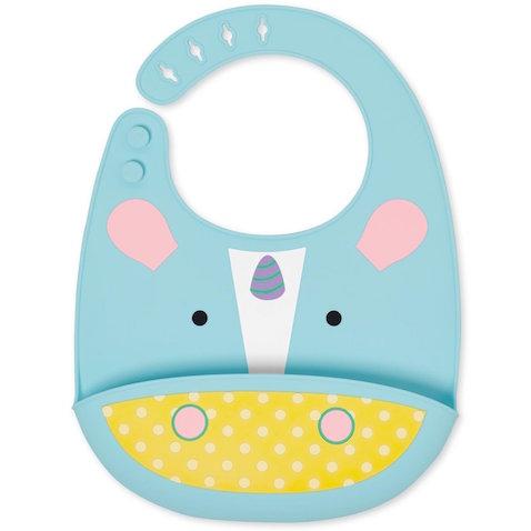 Babero para bebé de silicona modelo Unicornio de Skip Hop