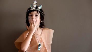 Disfraz casero de indio para niñ@s, perfecto para Carnaval