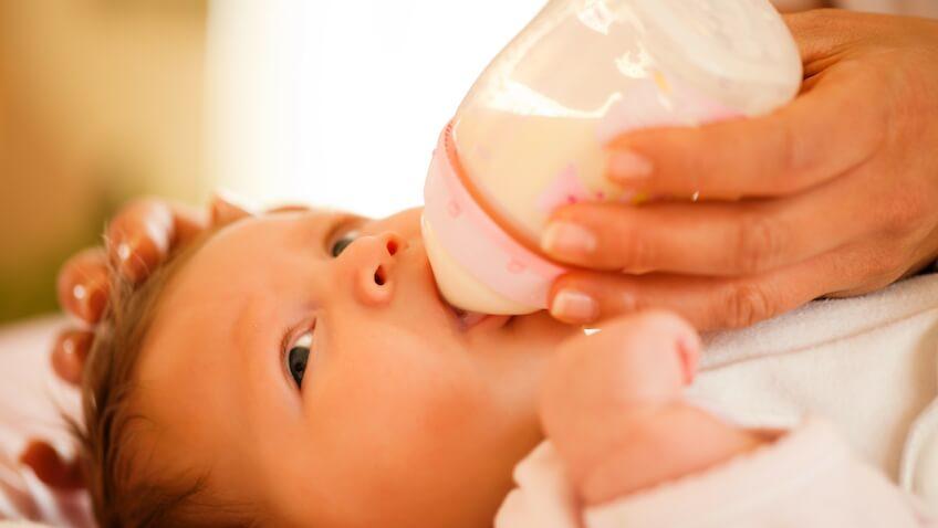leche de cabra para bebés recién nacidos