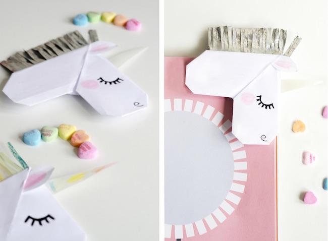 marcapaginas de unicornio