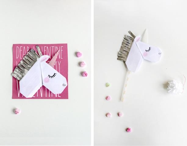 Tarjeta de unicornio
