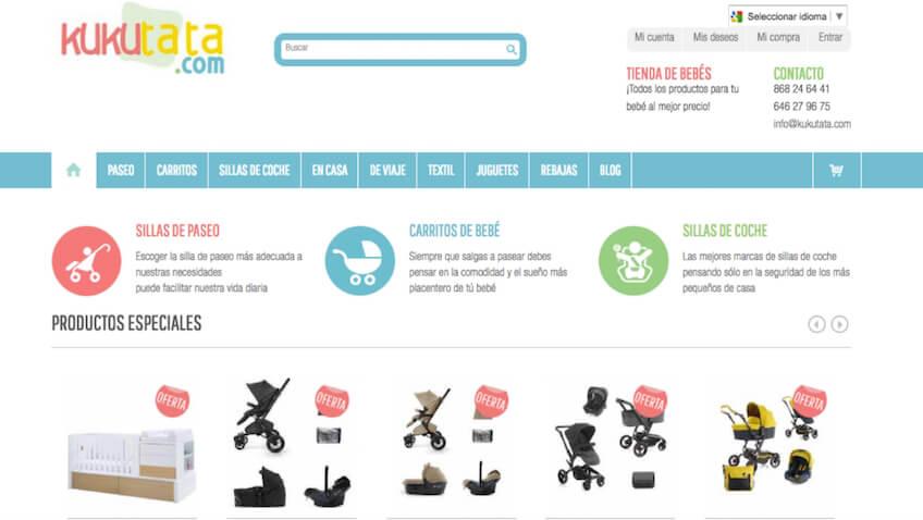 Kukutata tienda de bebés online españa