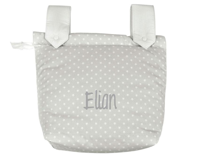 Bolso panadera personalizable con el nombre Elian