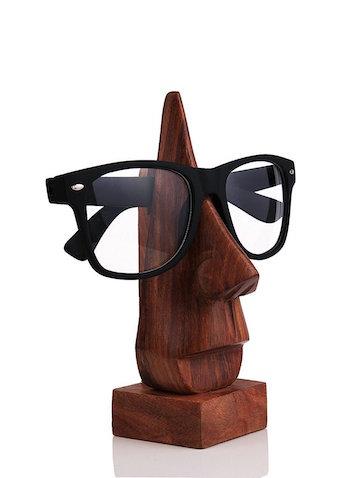 Portagafas tallado en madera