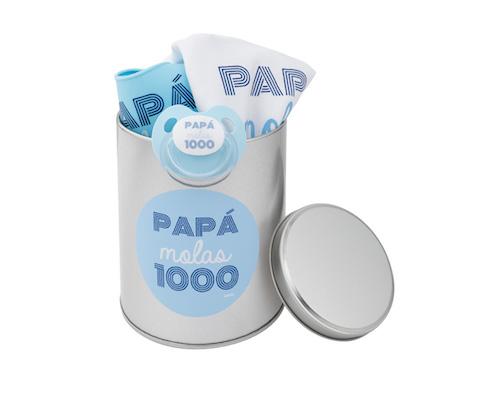 Súper Pack Papá Molas 1000 Azul regalo para el día del padre