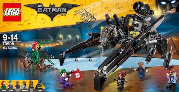 Set de construcciones de Lego Batman Criatura