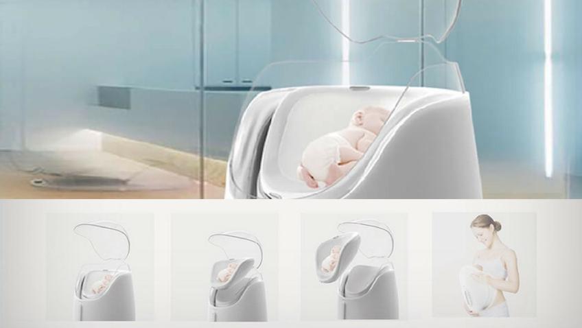Incubadora para bebés recién nacidos inspirada en el método canguro prematuros