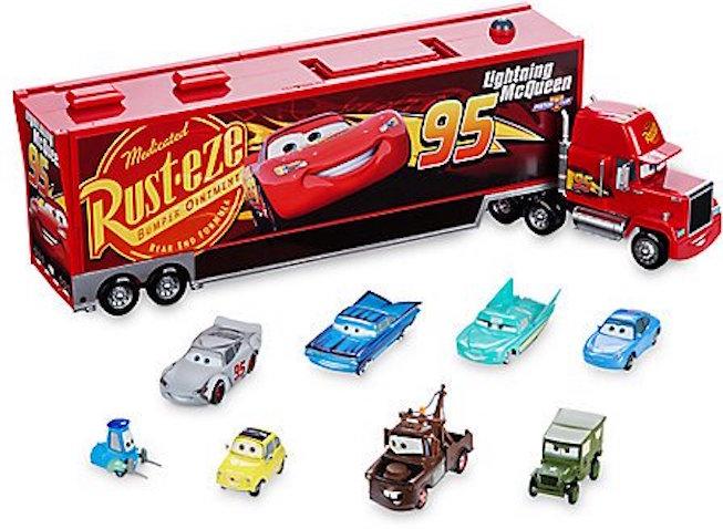 Juguetes Cars 3 Mack Supercamión 1-2-3 Cars 3